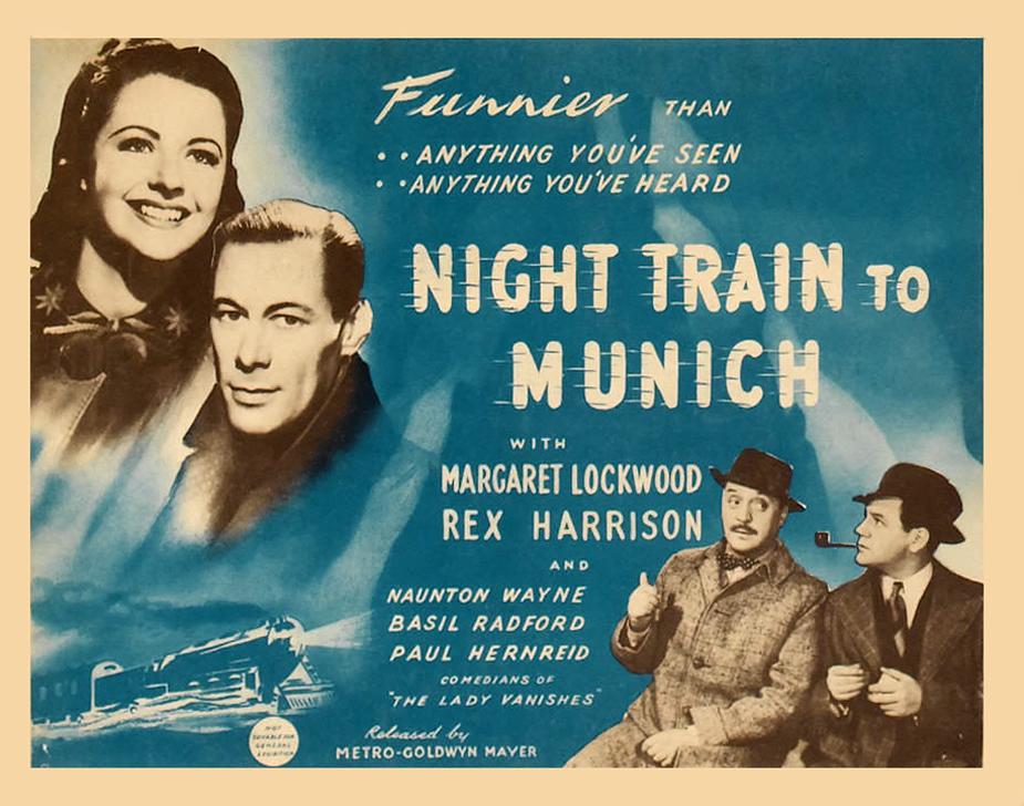 Poster - Night Train to Munich_02