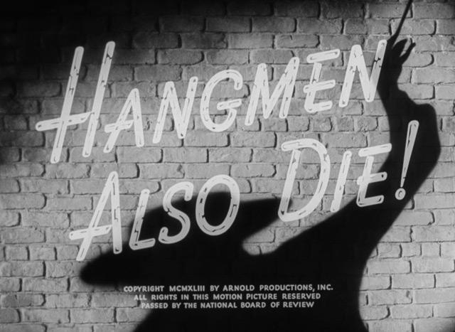 Hangmen credits