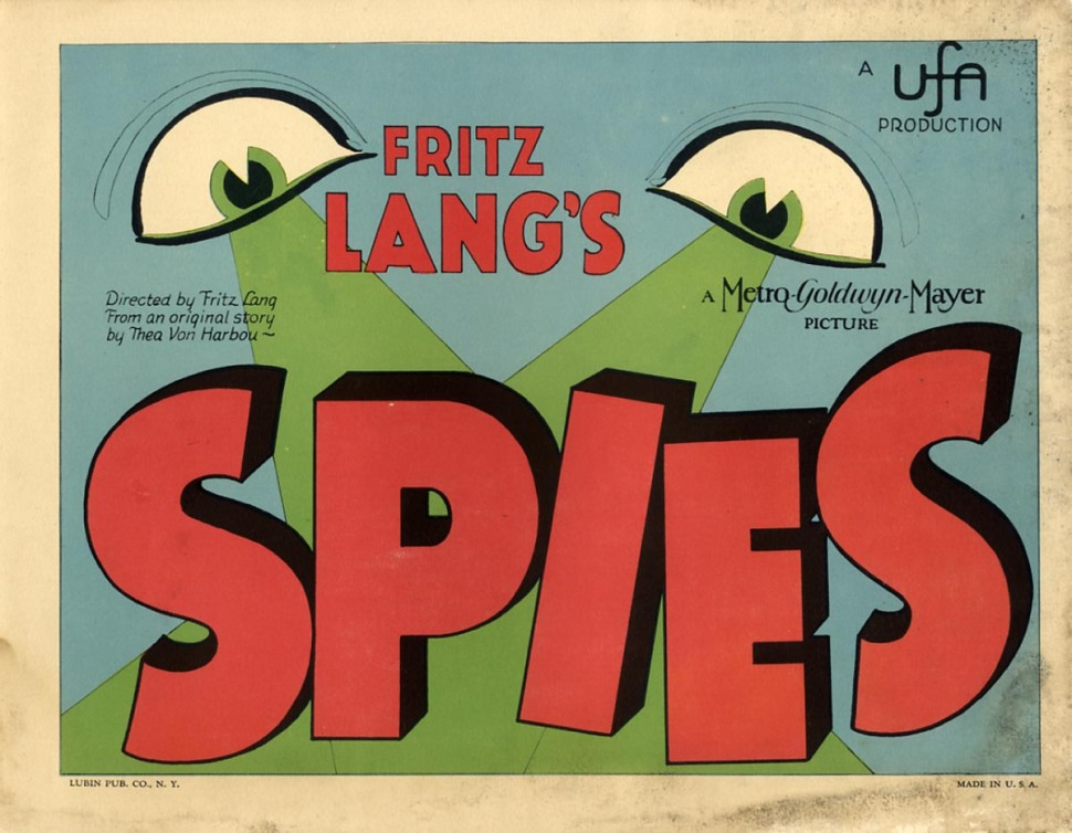 Spies Fritz Lang