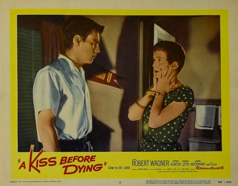 A Kiss Before Dying Lobby Card