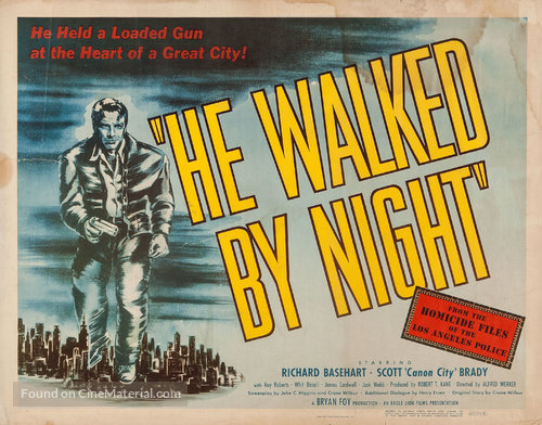 He walked poster
