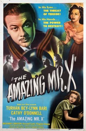 Amazing Mr X poster