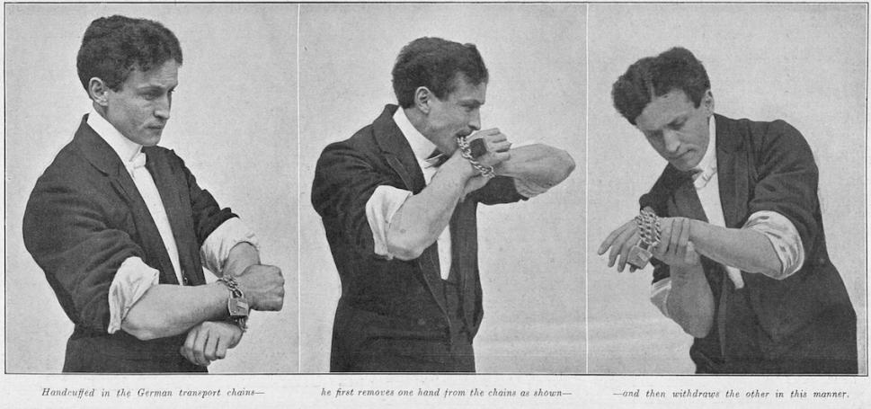 Houdini tryptich