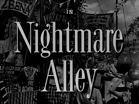 Nightmare Alley titles