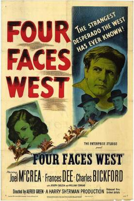 4 Faces West poster
