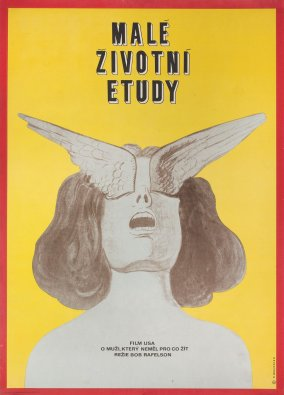Five Easy Pieces Czech Poster